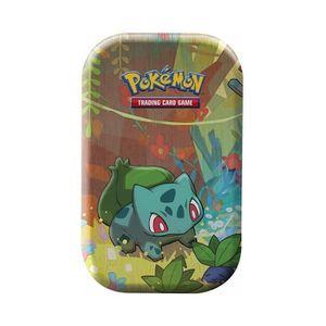 CARTE A COLLECTIONNER Pokemon Mini Tin Box Bulbizarre : Amis de Kanto -