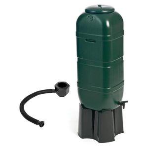 COLLECTEUR EAU - CUVE  Réservoir à eau de jardin - inclus vanne/socle/kit