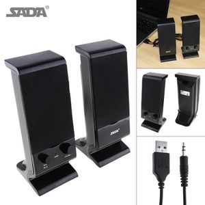 HAUT-PARLEUR - MICRO SADA V-112 Haut-parleur d'ordinateur portable Mini