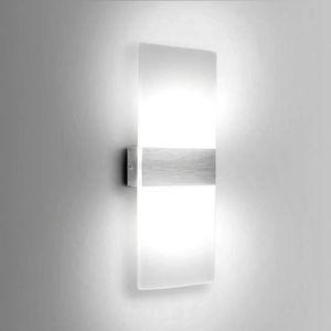 APPLIQUE  Aluminium LED 6W Applique Murale Interieur Éclaira