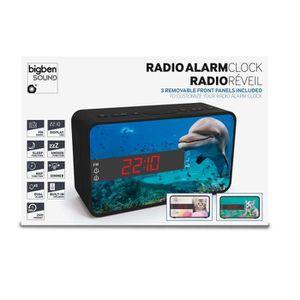 Radio réveil Radio Réveil double alarme 3 façades interchangeab