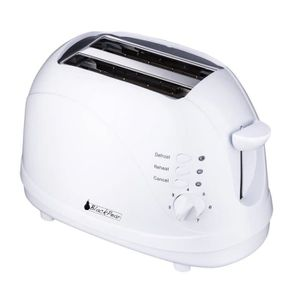 GRILLE-PAIN - TOASTER Toaster Decongelation Automatique 700W BlackPear
