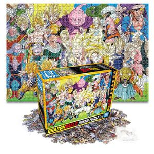 PUZZLE Dragon Ball Z Majin Buu Puzzle 1000PCS Anime Hobby