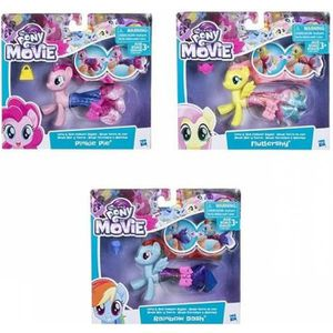 FIGURINE - PERSONNAGE My Little Pony Poney Sirene Articule et Jupe