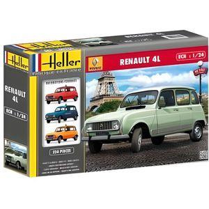 VOITURE À CONSTRUIRE Maquette Renault 4L