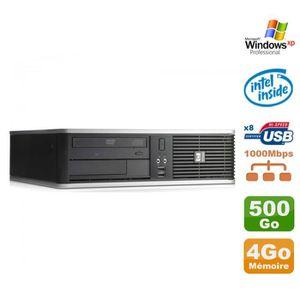 UNITÉ CENTRALE  PC HP DC7900 SFF Dual Core E5300 2.6Ghz 4Go Disque