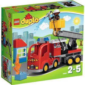 ASSEMBLAGE CONSTRUCTION LEGO® DUPLO Town ville 10592 Le Camion de Pompiers