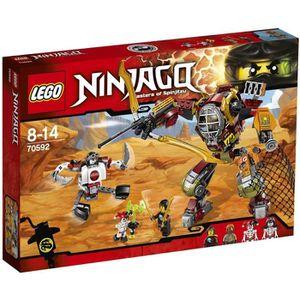 ASSEMBLAGE CONSTRUCTION LEGO® Ninjago 70592 Le Robot de Ronin