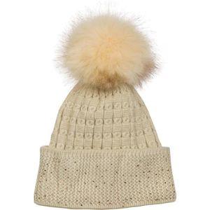 CHAPEAU Bobble-maille fine et douce des femmes Hat avec st