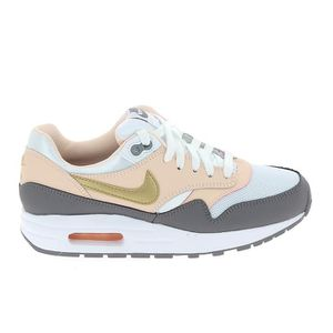 BASKET  NIKE Air Max 1 Jr Rose Gris 807605-104