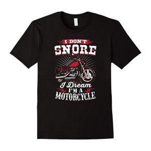 T-SHIRT I Don't Snore I Dream I'm A Motorcycle Mens T-Shir