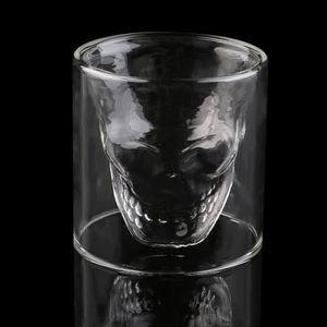 Verre à bière - Cidre SURPRISE!!! 4PCS Verre à Vin en forme Cool Skull H