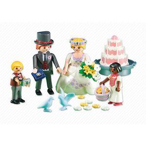 UNIVERS MINIATURE PLAYMOBIL 6459 - Mariés avec enfants d'honneur