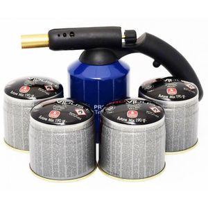 MACHINE DE SOUDURE Kit lampe a souder PG 400 M coque acier piezo + 4