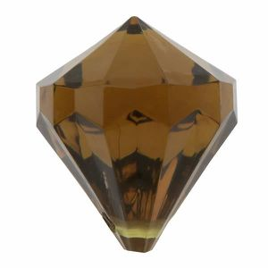 Décors de table Perle pampille diamant chocolat (x6) REF/3852