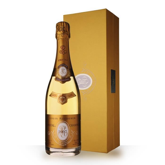 Louis Roederer Cristal 2007 Brut 75cl - Coffret - Champagne