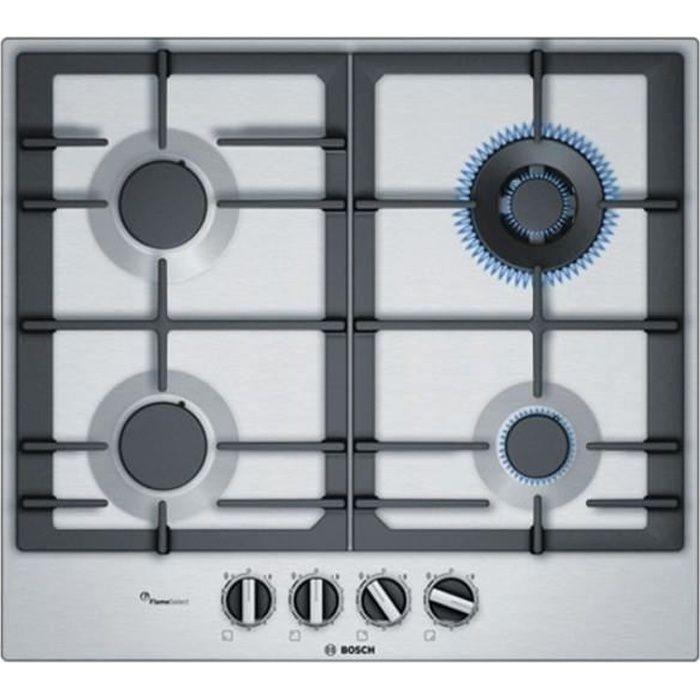 Plaque au gaz BOSCH PCH6A5B90 60 cm Noir (4 cuisinière