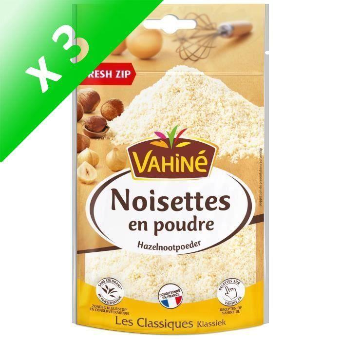 [LOT DE 3] VAHINE Noisettes en poudre - 100 g