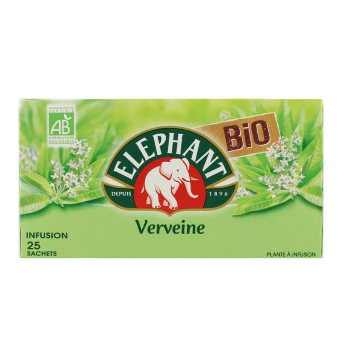 Infusion verveine 33g Elephant