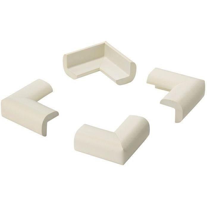 INOFIX - Protection de coin adhésive blanc par 4 en blister