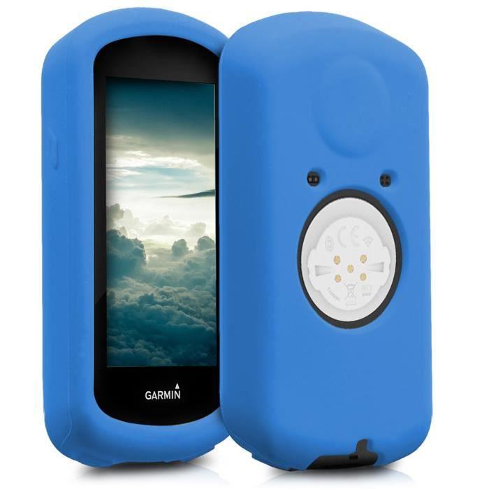 kwmobile Housse GPS Vélo - Accessoire Compatible avec Garmin Edge 1030 / 1030 Plus - Protection Boîtier Navigateur - Étui en Silicon