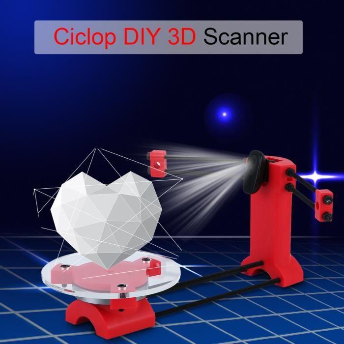 Ciclop Scanner 3D de bureau multifonction