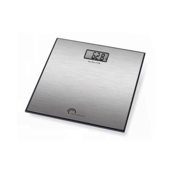 Pèse personne LITTLE BALANCE 180 Kg Exclusif Noir / Inox
