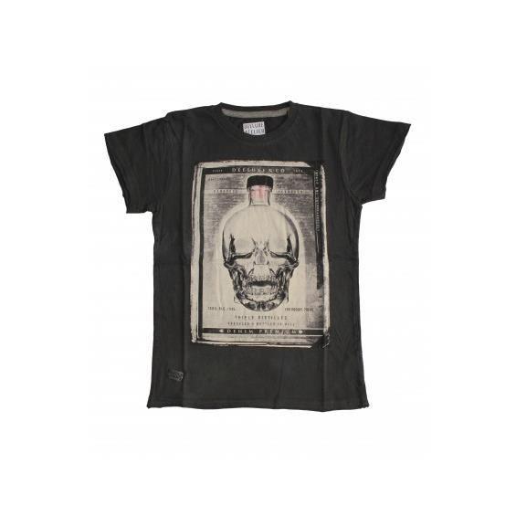 T-Shirt Deeluxe Crystal Kid Charcoal Couleur Gris