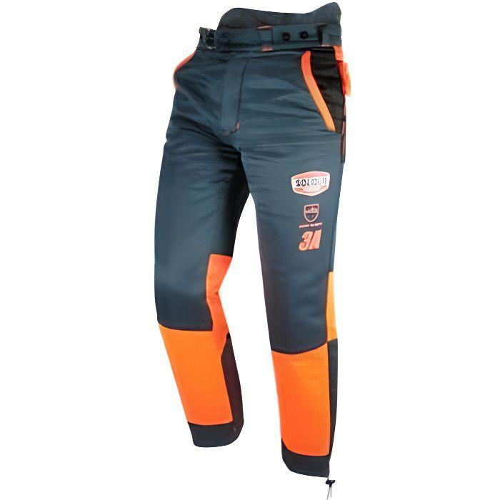 Pantalon AUTHENTIC 28 m/s special tronçonneuse protection 9 couches type A classe 3 - AUPA3A - Solidur