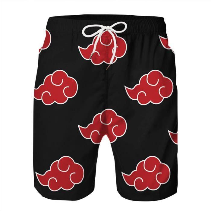 Legging De Compression Homme-Pantalon de plage de vacances d'impression numérique 3D personnalisé-rouge YH™