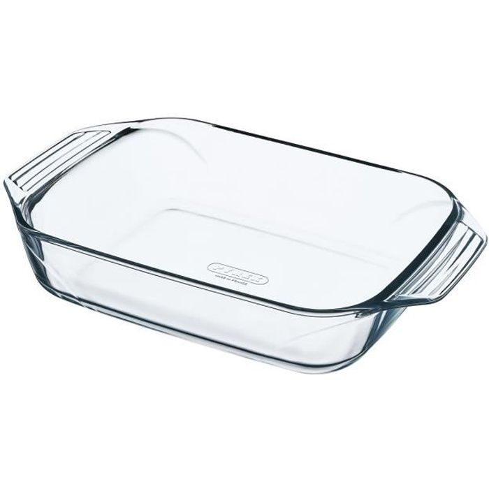 PYREX Plat à four rectangulaire 28x17 cm transparent