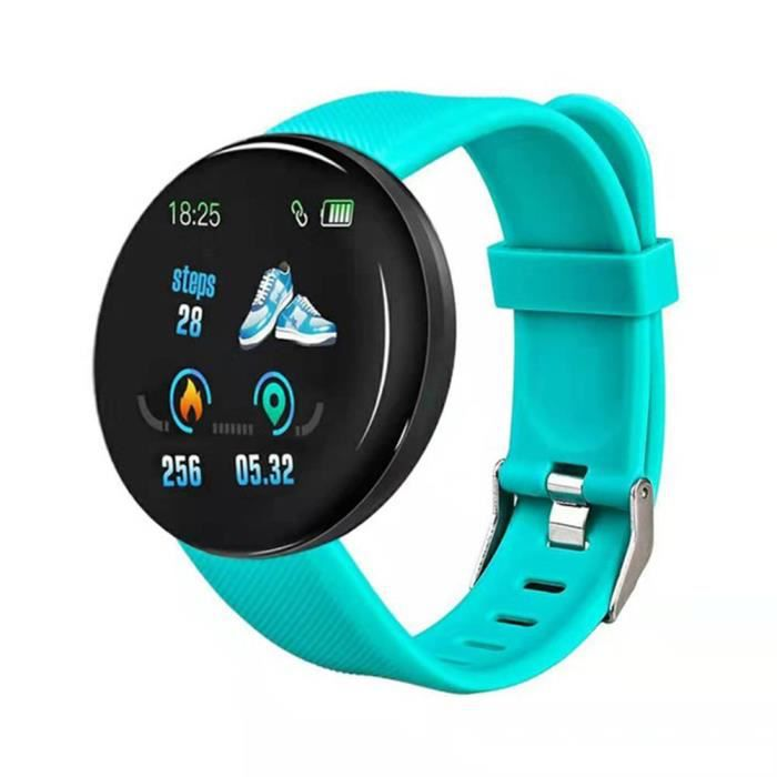 Montres intelligentes pour hommes Femmes Fitness Trackers avec moniteurs de fréquence cardiaque Moniteurs personnalisés Moniteur