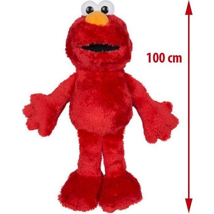 Peluche XXL Sesame Street : Elmo