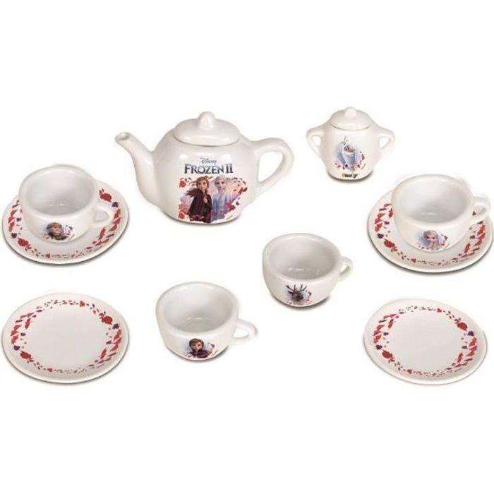 SMOBY La Reine des Neiges 2 Dinette Porcelaine 12 Accessoires