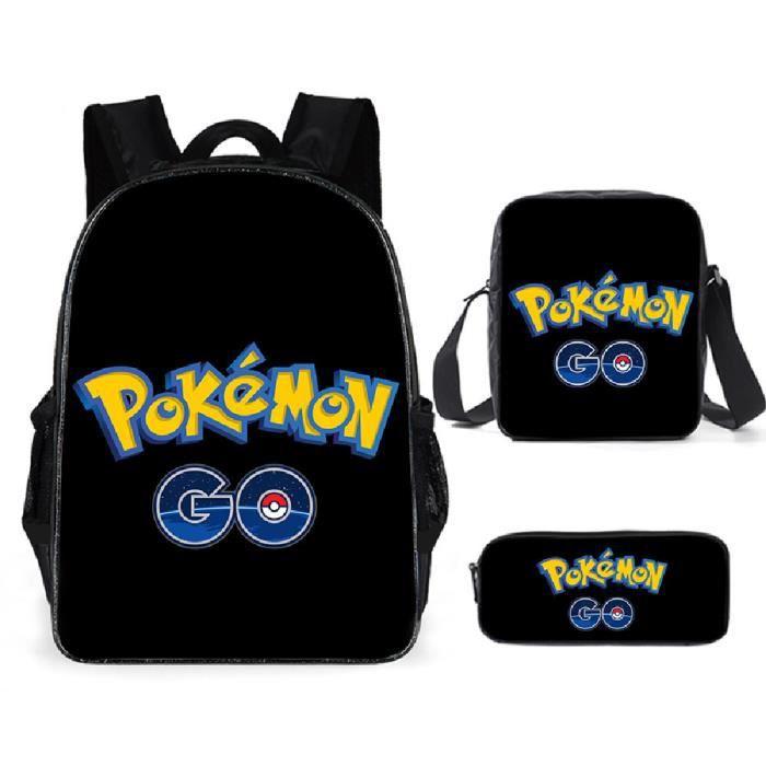 Pokémon Sacs D'école Cool Garçons Filles Anime Elfe Pikachu Sac À Dos Scolaire Enfants Backpack A19