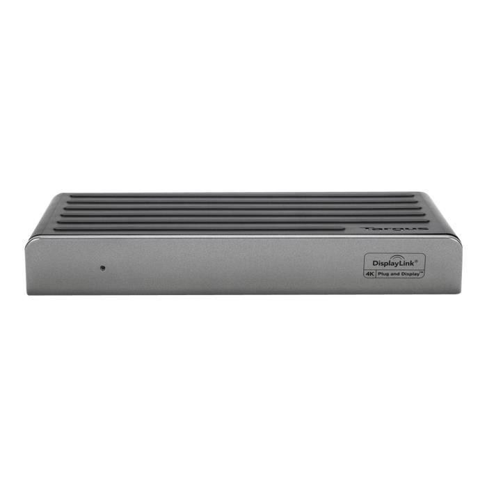 TARGUS Station d'accueil USB Type C pour Notebook/Tablette PC - 45 W - 5 x Ports USB - 4 xUSB 3.0 - Réseau (RJ-45) - HDMI
