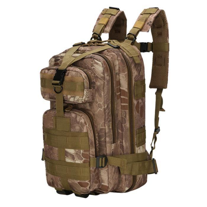 Assault Military Sac à dos à Sport Casual Équipement de plein air pour la chasse Trekking Voyage SAC A DOS TECHNIQUE