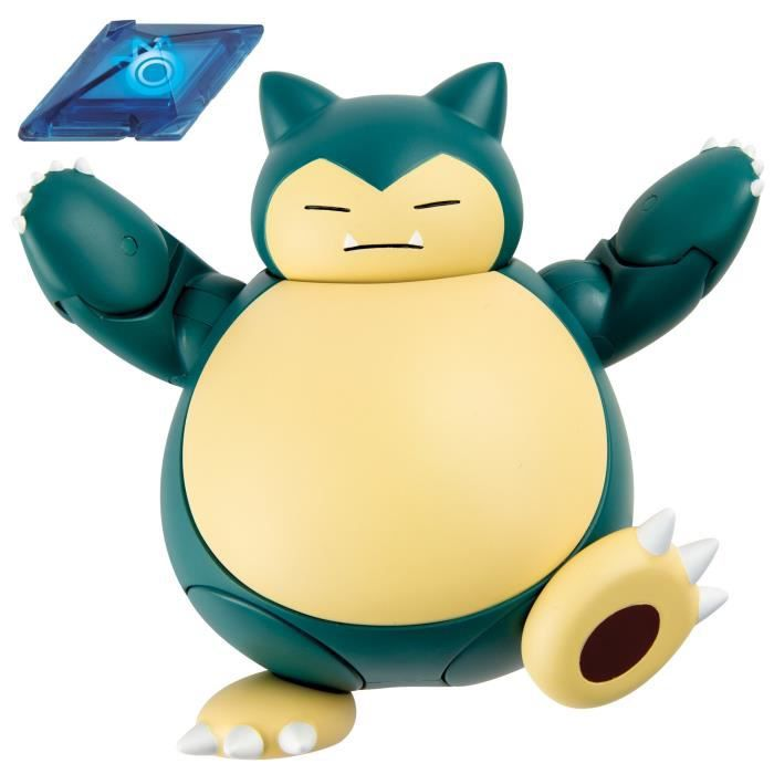 Figurine Miniature TOMY Pokémon d'action Figure, Snorlax GB316