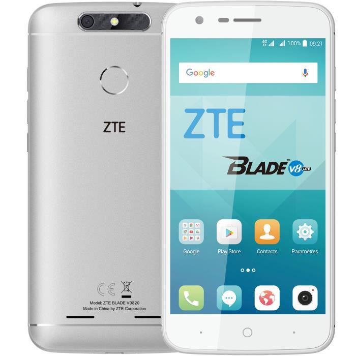 ZTE Blade V8 Lite Argent