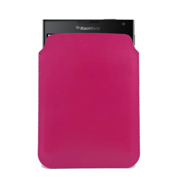 Ultrajacket housse blackberry passport fuchsia achat for Housse blackberry
