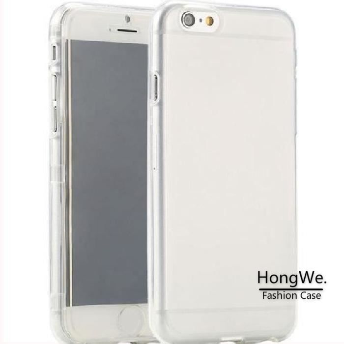 coque iphone 7 rabat transparent