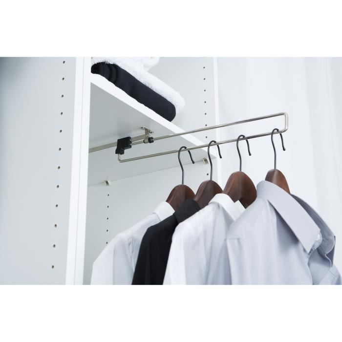 penderie frontale profondeur 310 achat vente barre de penderie penderie frontale profondeu. Black Bedroom Furniture Sets. Home Design Ideas