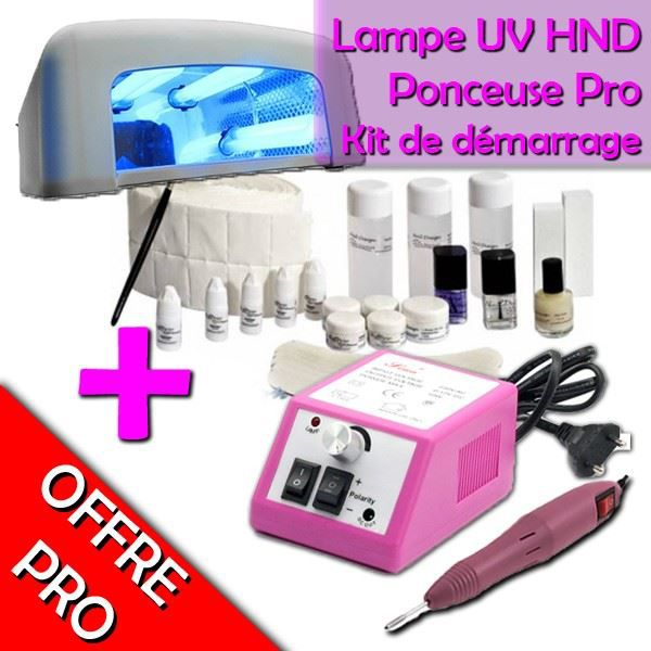 kit manucure n 3 lampe uv ponceuse produit achat vente set manucure p dicure cdiscount. Black Bedroom Furniture Sets. Home Design Ideas