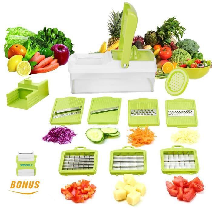 Mandoline Coupe Cutter Chopper pâte fruits légumes légumes éplucheur l/'outil Slicer Dicer