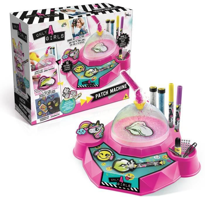 Only 4 girls patch machine diy achat vente jeu de - Jouet fille 11 ans ...