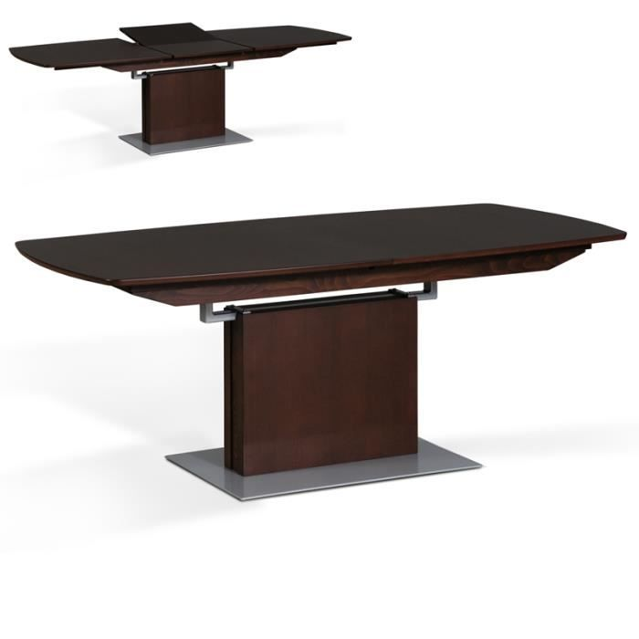 table extensible natal bois massif 180 240cm achat. Black Bedroom Furniture Sets. Home Design Ideas