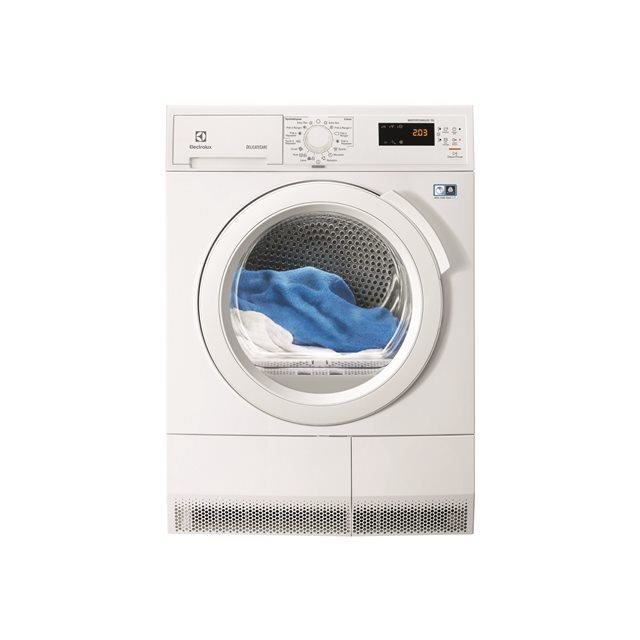 electrolux s che linge condensation avec pompe chaleur 60cm 7kg a blanc edh3776gde. Black Bedroom Furniture Sets. Home Design Ideas