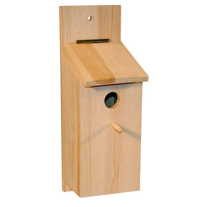Kerbl Nichoir Kit A Monter Soi Meme Pour Oiseaux 36x12x14cm Cdiscount Animalerie