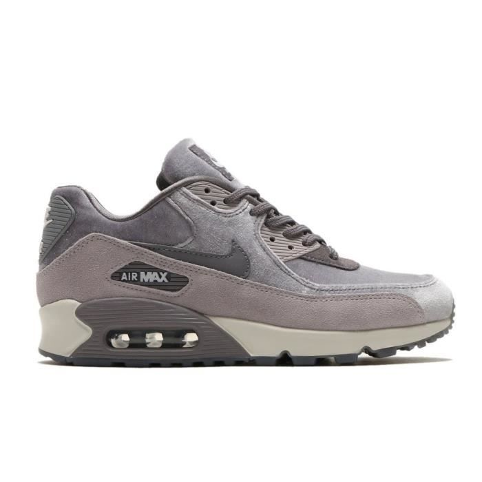 good great prices well known Baskets Nike Air Max 90 Lx - 898512007 Gris - Achat / Vente ...