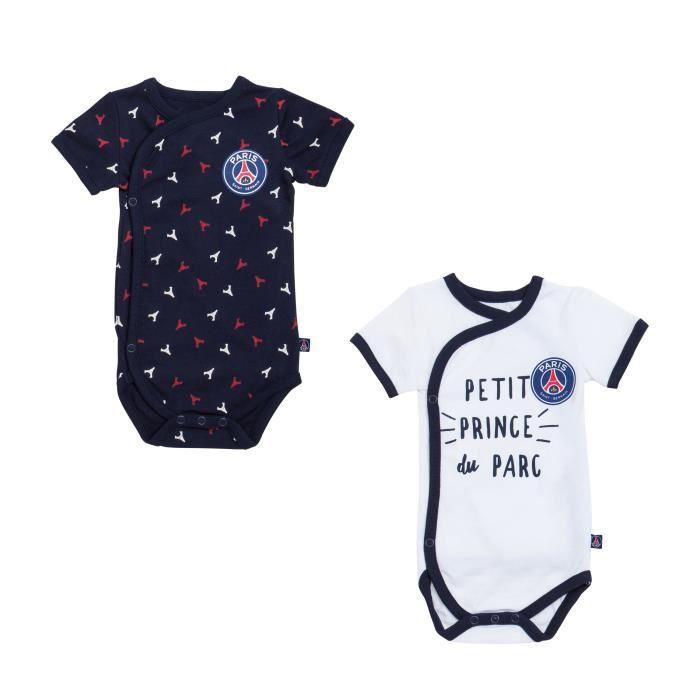 BODY Body bébé x 2 PSG - Collection officielle PARIS SA